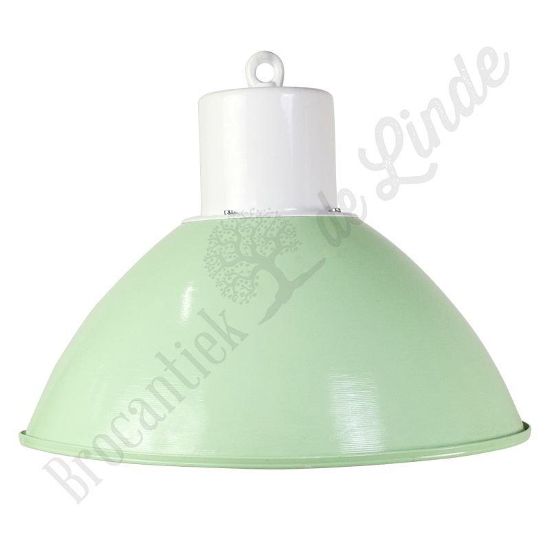 """Oude fabriekslamp """"Pacov Green"""""""