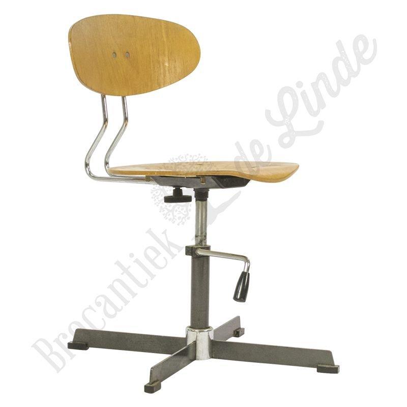 Vintage bureaustoel