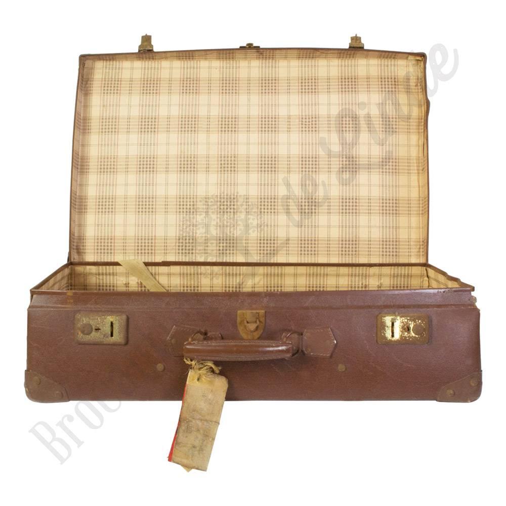 vintage koffer nr 15 brocantiek de linde. Black Bedroom Furniture Sets. Home Design Ideas