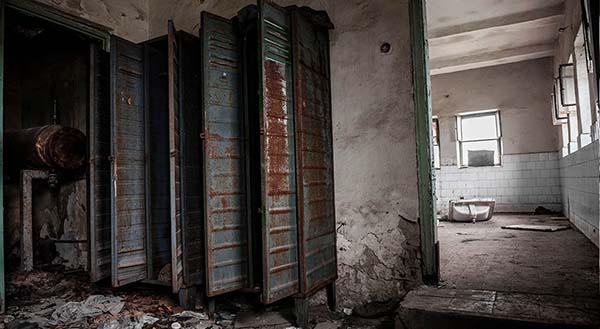 Vintage lockers en kasten