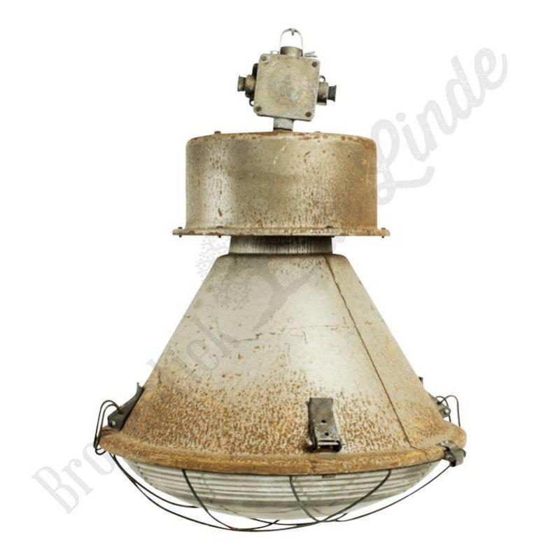 """Oude fabriekslamp """"Janek C-keuze"""""""