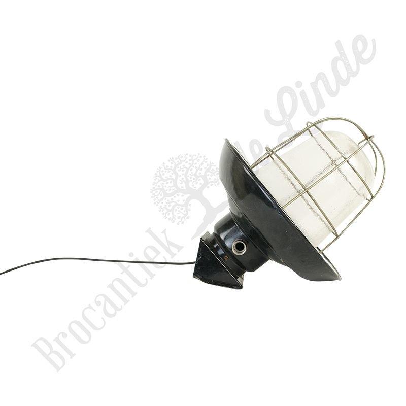"Industriële kooilamp ""Petrovice wandmodel metaal"""