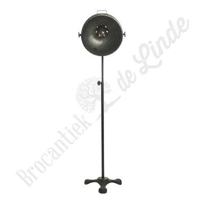 Vloerlamp Industry met gaas