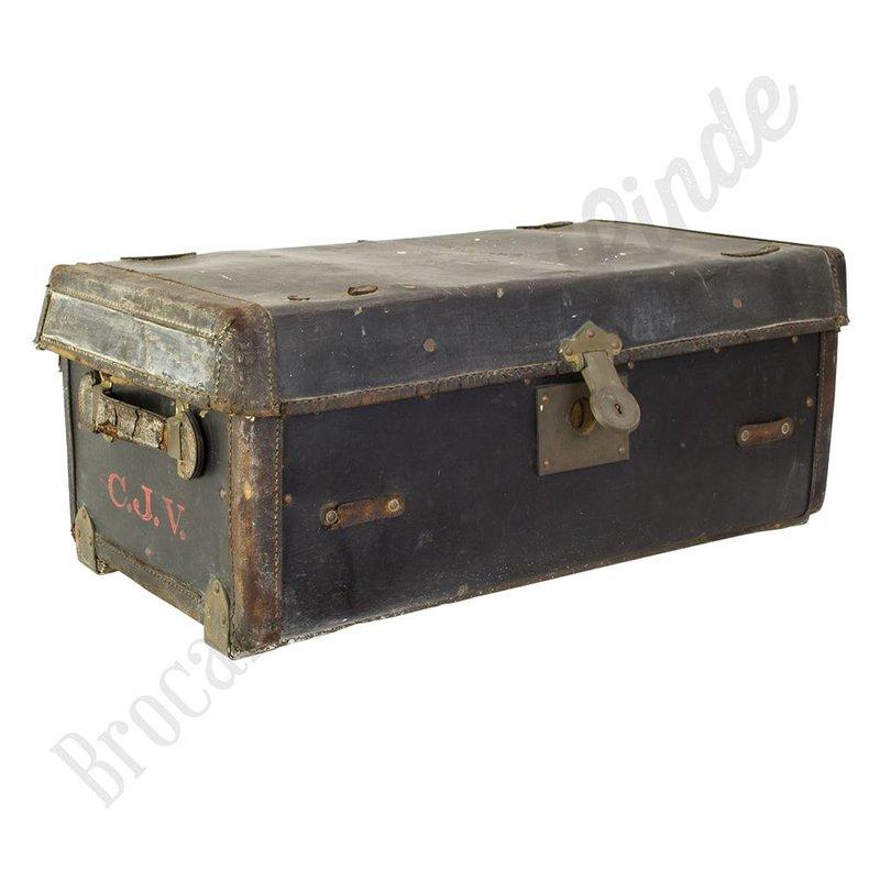 "Stoere, vintage koffer ""No.17"""