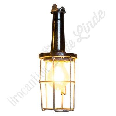"""Vintage """"bakelieten looplamp"""""""