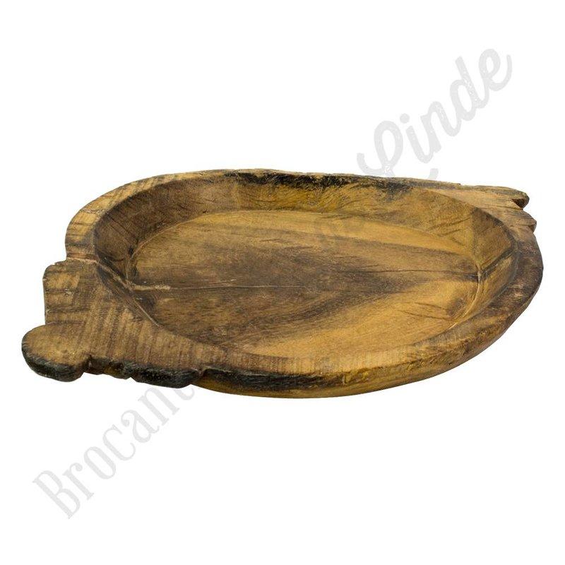 Indiase houten dienbblad