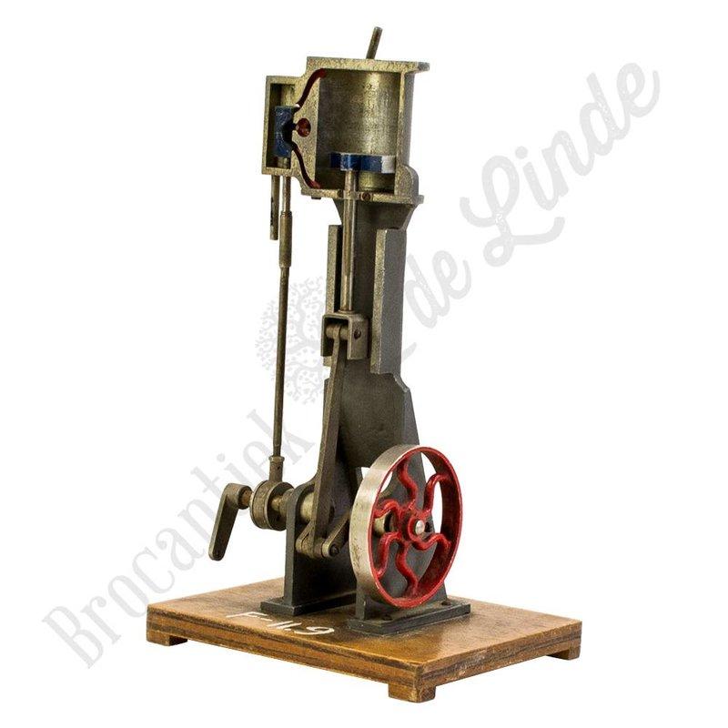 Doorsnede Stoommachine/cilinder