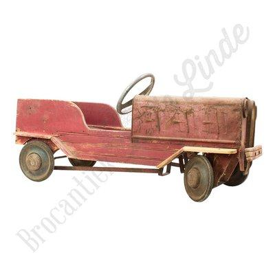 Vintage antieke loopauto