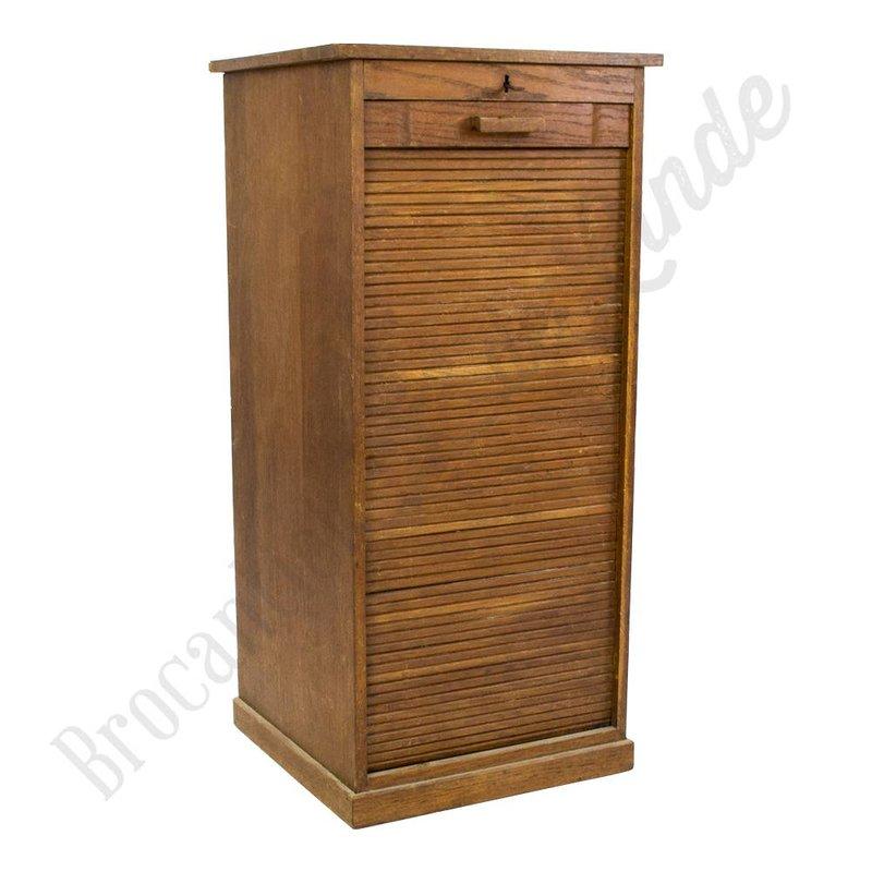 Antieke rolluik-kast