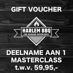 Voucher Masterclass HarlemBBQ