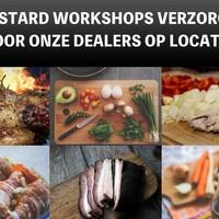 BBQ workshop verzorgt door onze dealers op locatie