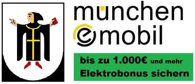 Förderprogramm der Stadt München für Elektromobilität