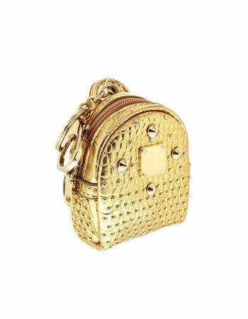 Charm Rucksack Gold