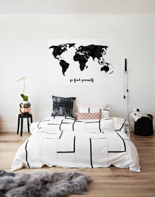 weltkarte leinwand my blog. Black Bedroom Furniture Sets. Home Design Ideas