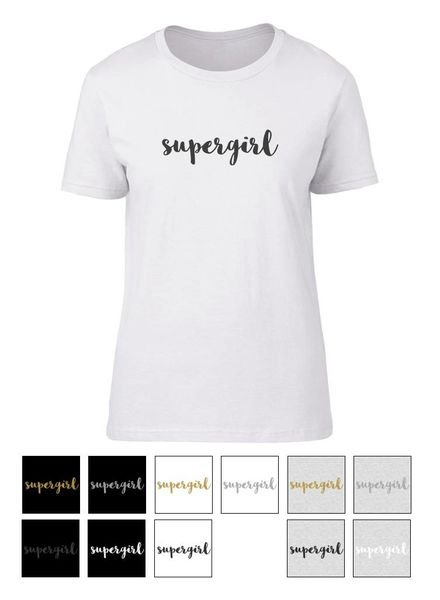 livstil supergirl - Shirt