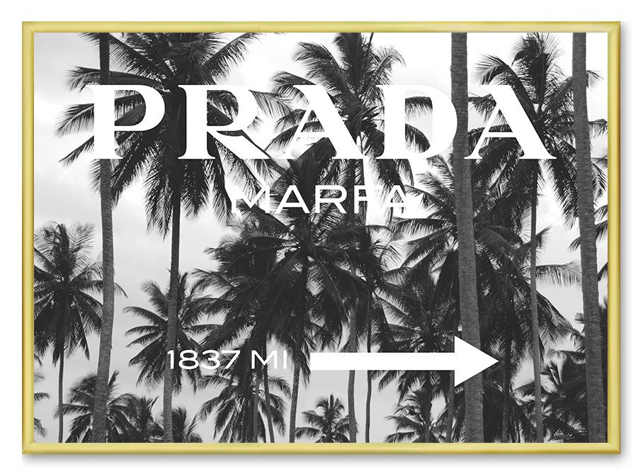 livstil Prada Marfa Palm Trees Bild
