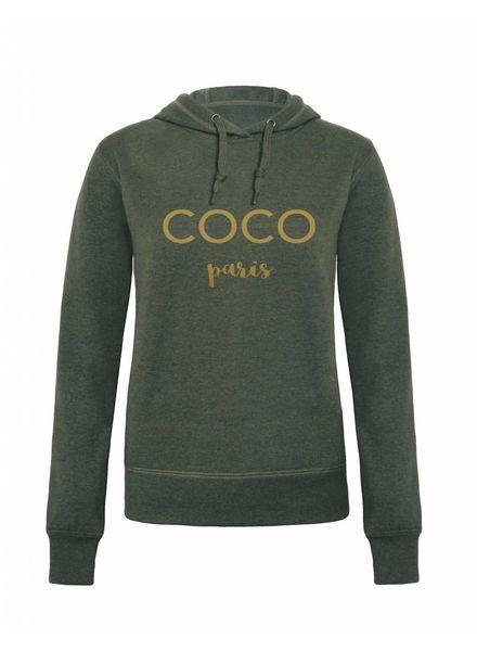 livstil COCO paris - Hoodie Grün