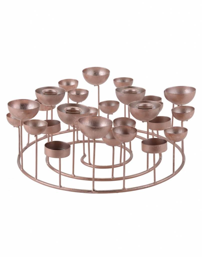 GIFT Company Kerzenständer Rose S