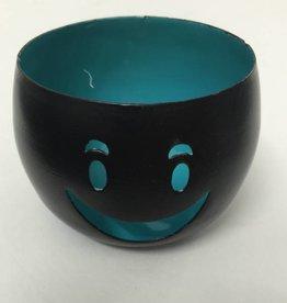 "Teelicht ""Smiley"""