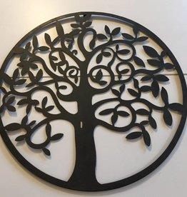 "Metall Wandornament ""Baum"""