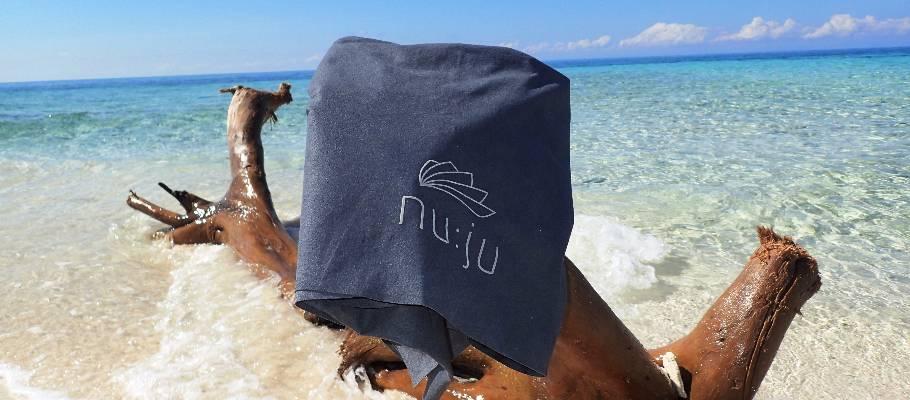 Das nu:ju Handtuch auf Reisen