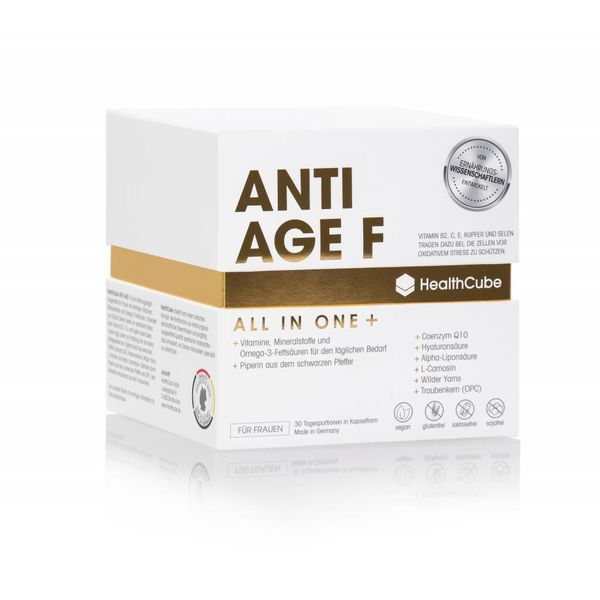 HealthCube HealthCube ANTI AGE F | 30 daily servings | For women - to slow down the aging process