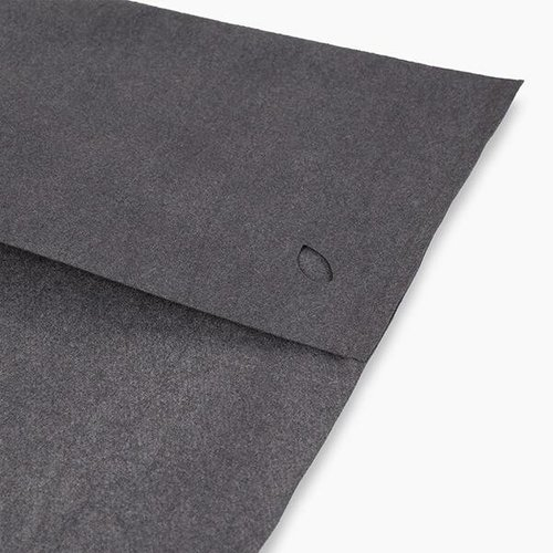 nu:ju® Sport Fitness towel made of Evolon® | 1 towel in Dark Grey