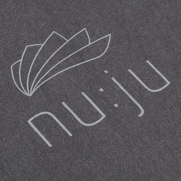 nu:ju® Sport nu:ju Fitness towel made of Evolon®  with 3 practical functions, silver-ionised | 1 towel ( ca. 70 x 130 cm) in Dark Grey