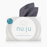 nu:ju® Beauty Microfibre facial cleansing cloth 2in1, silver-ionized | incl. travel case | from €9.50
