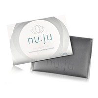 nu:ju® Beauty nu:ju Mikrofaser Abschminktuch 2in1 aus Evolon®, silberionisiert | 2er Pack inkl. Reiseetui
