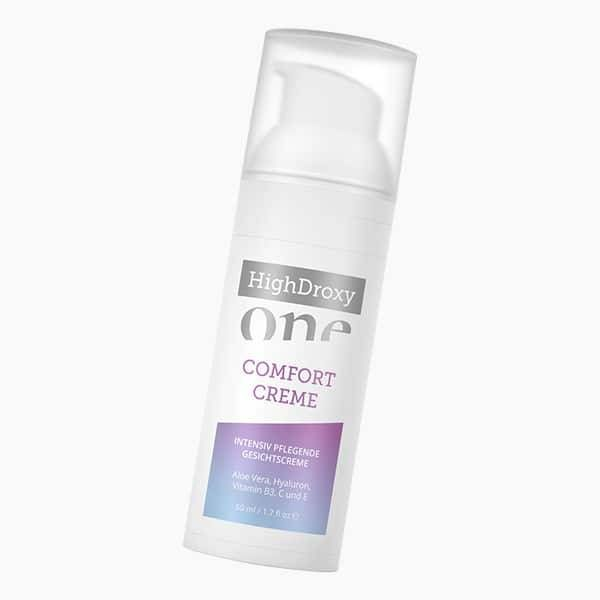 HighDroxy One HighDroxy One COMFORT CREME | Intensiv pflegende Wasser-in-Öl-Emulsion (W/O) für trockene und strapazierte Haut 50 ml