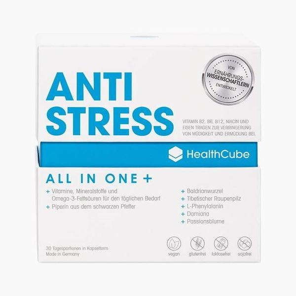 HealthCube HealthCube ANTI STRESS | 30 daily servings | For everyone - to support stress and heavy physical exertion