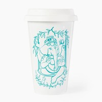 GANESHA TO STAY Porcelain cup | 0,4 l