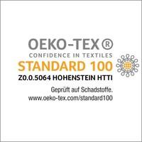 nu:ju® Beauty nu:ju Wende-Kopfkissenbezug SOFT TOUCH aus Evolon®, silberionisiert, hypoallergen | 1 Stück in 80 x 40 cm - Grau/Weiß