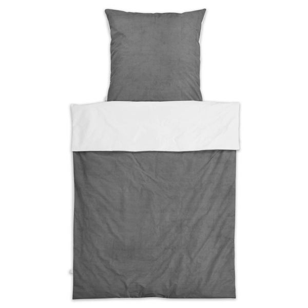 nu:ju® Beauty nu:ju Reversible duvet cover SOFT TOUCH made of Evolon®, anti-mite, silver-ionised | 1 piece  in 155 x 200 cm