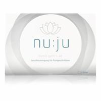 "nu:ju® Beauty nu:ju Microfibre facial cleansing cloth ""Sensitive"" made of Evolon®, silverized | 2 cloths incl. travel case"