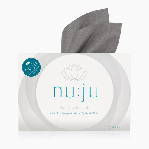 "nu:ju® Beauty Microfibre facial cleansing cloth ""THE ORIGINAL"" 