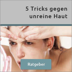 Blogartikel 5 Tricks gegen unreine Haut