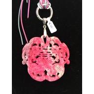 Jade hanger China roze