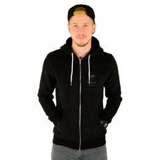 Hype Tone on Tone Zip Hoodie Black