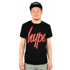 Hype Script T-Shirt Black/Red