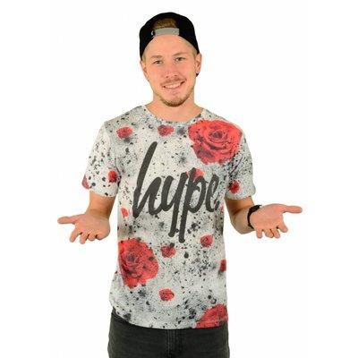Hype Rose Splat T-Shirt Multi