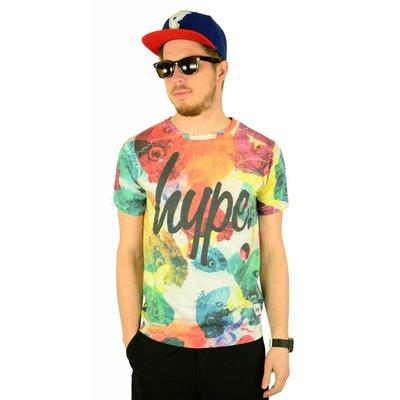 Hype Rainbow Butterflies T-Shirt Multi
