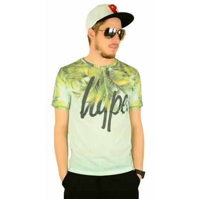 Hype Palms Neck T-Shirt Multi