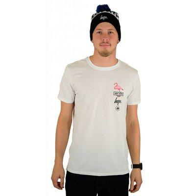 Hype Flamingo T-Shirt White
