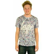 Hype Broken Glass Script T-Shirt Multi