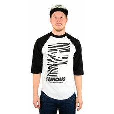 Famous Stars and Straps Wildside F Flat Raglan White/Black/Black