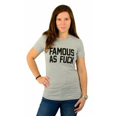 Famous Stars and Straps Status T-Shirt Heather Grey