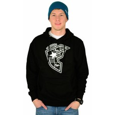 Famous Stars and Straps Silhouette Boh Pullover Hoodie Black/White