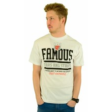Famous Stars and Straps Street Knowledge T-Shirt White